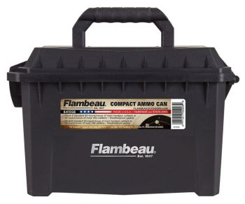 Flambeau 6415sb Compact Ammo Can 223 Rem5.56 Nato 20rd Boxes Black