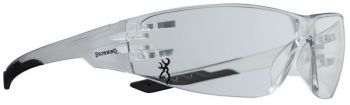Browning 12761 Shooters Flex Glasses Eye Protection Clear Lens/black Temple