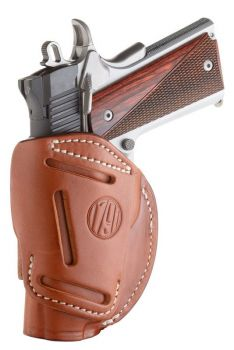 1791 Gunleather 4wh1cbrr 4 Way Classic Brown Leather Iwb/owb 1911 34/browning Hi Power Right Hand