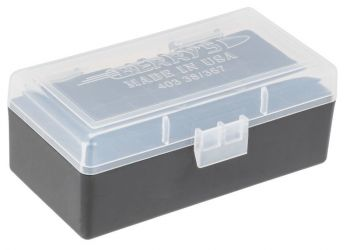 Berrys 403 Ammo Box 38 Special357 Mag 50rd Clear/black