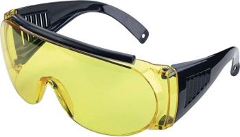 Allen 2170 Fit Over Shooting Glasses Yellow / Black