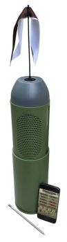 Convergent Bhp4000 Bullet Hp Electronic Call Predator Polycarbonate Green Rechargeable Lithium Ion