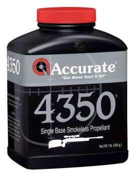 Accurate Accurate 4350 Rifle Powder 1 Lbs