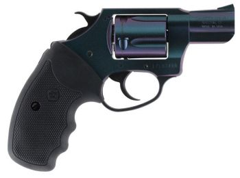 Charter Arms 25387 Undercover Chameleon Revolver Single/double 38 Special 2 5 Rd Black Rubber Grip High Polished Iridescent Cerakote