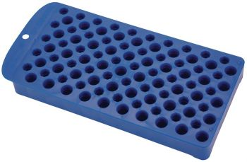 Frankford Arsenal 393939 Universal Reloading Tray 50 Cases Plastic Blue