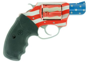 Charter Arms 23872 Undercover The Old Glory Revolver Single 38 Special 2 5 Rd Black Rubber Grip American Flag