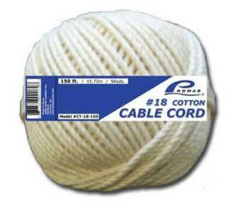 American-Maple-Cotton-Twine-8Oz-Size-48-Pack-of-12 A48