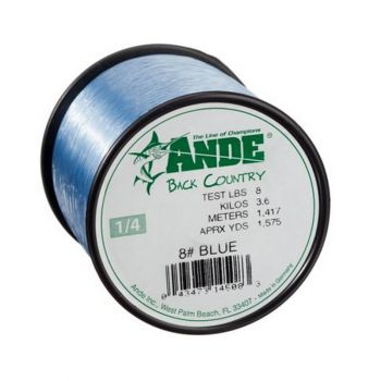Ande Back Country Mono Line Blue 30# 2Lb Spool
