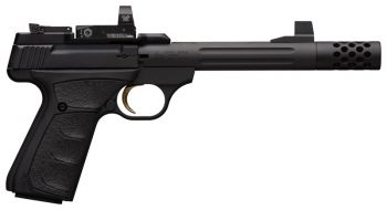 Browning Pistol Buck Mark Competition 22Lr Black Ufx Fluted Sr Mb With Red Dot