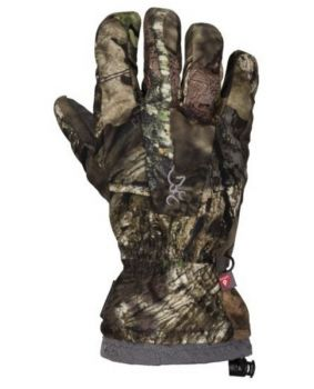 Browning Btu-Wd Gloves Mossy Oak Country Camo Waterproof X-Large