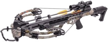 Center Point Crossbow Heat 415 Camo With Power Draw