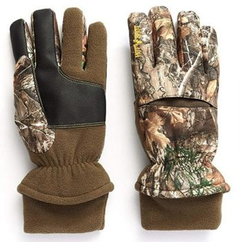 Hot Shot Aggressor Gloves Realtree Xtra With Pro-Text Waterproof Large